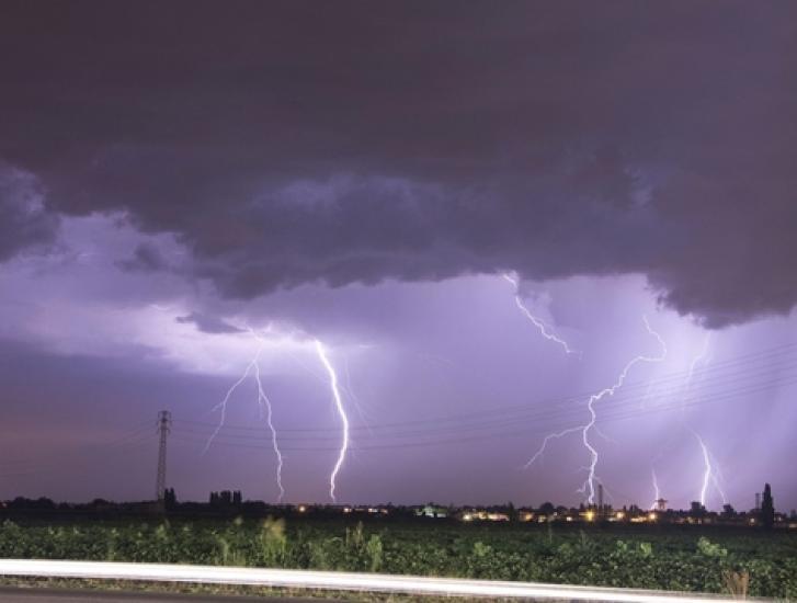 Attenzione: temporali intensi fino a domani