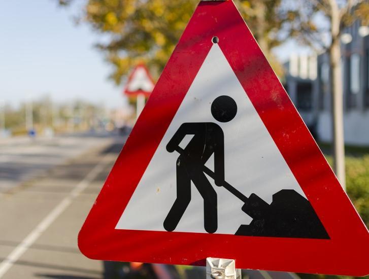 Cantiere stradale, modifiche alla viabilità