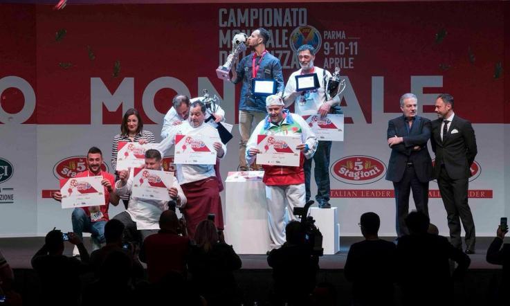 Mirko Boniolo di Cavarzere campione mondiale di pizza in teglia
