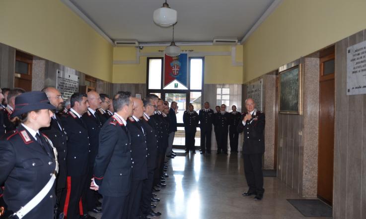 Visita Del Generale La Gala Al Comando Dei Carabinieri La Voce Di