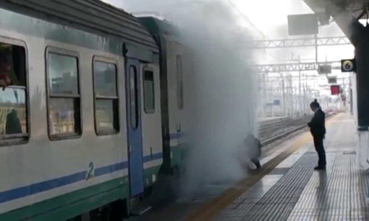 Treno In Fiamme Ritardi Sulla Mestre Adria La Voce Di Rovigo
