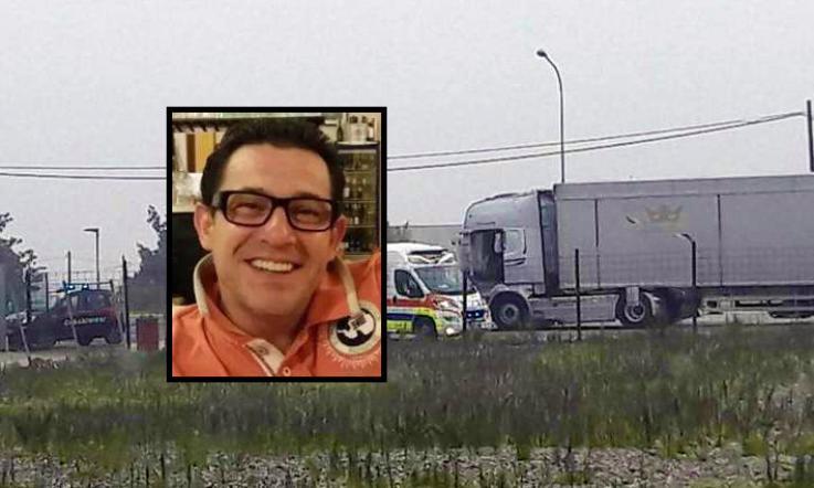 Conductor de camión de 40 años encontrado muerto.