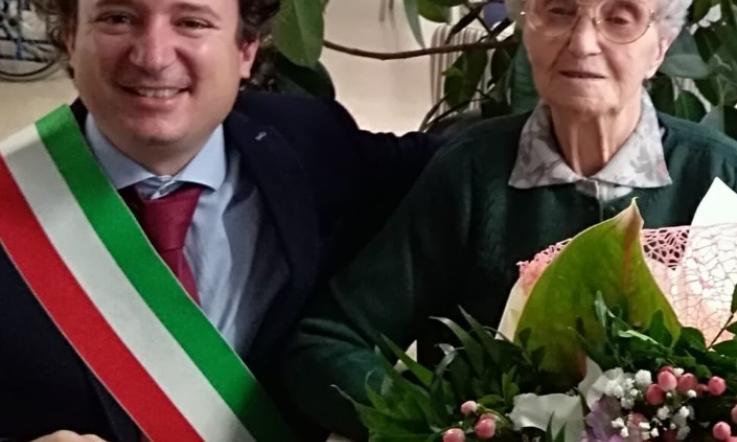 Maria Benetti Le Candeline Sono 103 La Voce Di Rovigo