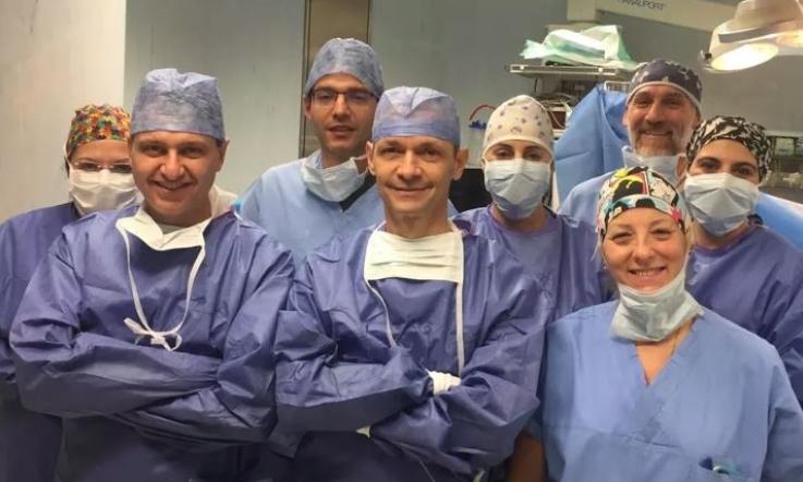 L'operazione salvavita al fegato è una prima mondiale