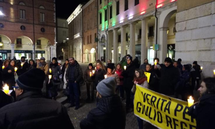 Anche a Pescara la fiaccolata per Giulio Regeni di Amnesty International