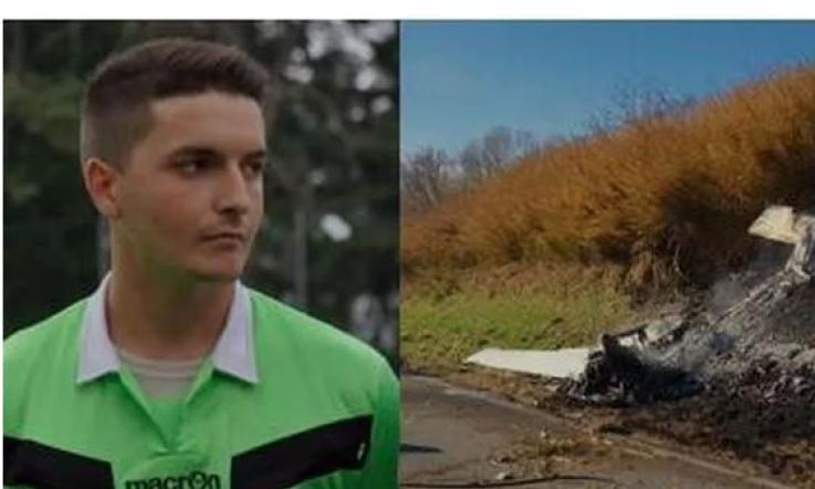 Arbitro di rugby precipita con il suo ultraleggero: muore a 23 anni