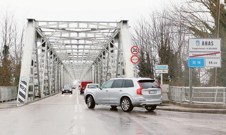 Ponte Sul Po Taglio Del Nastro La Voce Di Rovigo