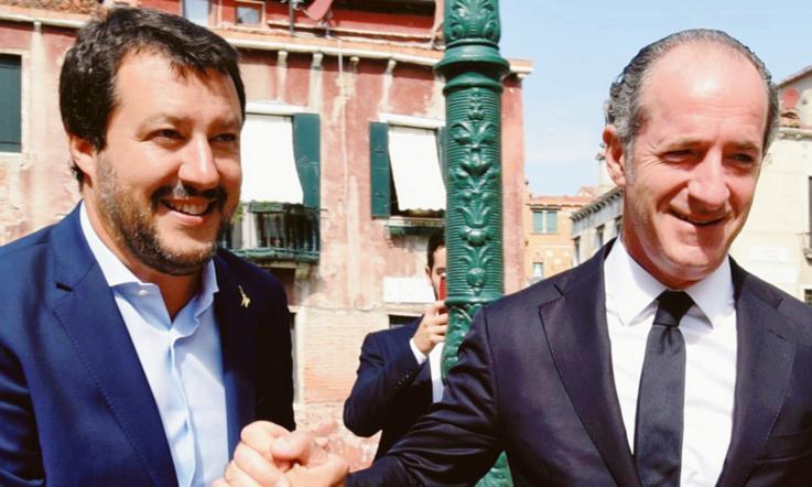 Soldi russi alla Lega: Salvini nega, Di Maio esalta il M5S