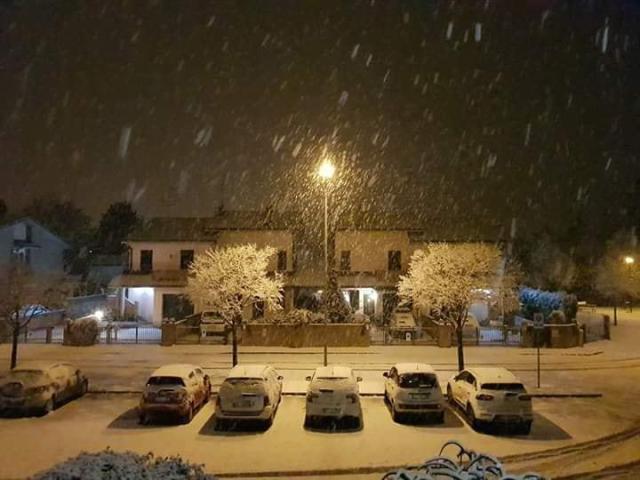 E  arrivata la neve sul Delta! - Foto 1 di 4 - La Voce di Rovigo 006f8bd74676