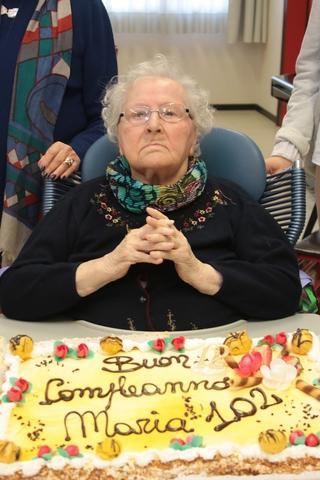 Compleanno Record La Signora Maria Spegna 102 Candeline Foto 1 Di