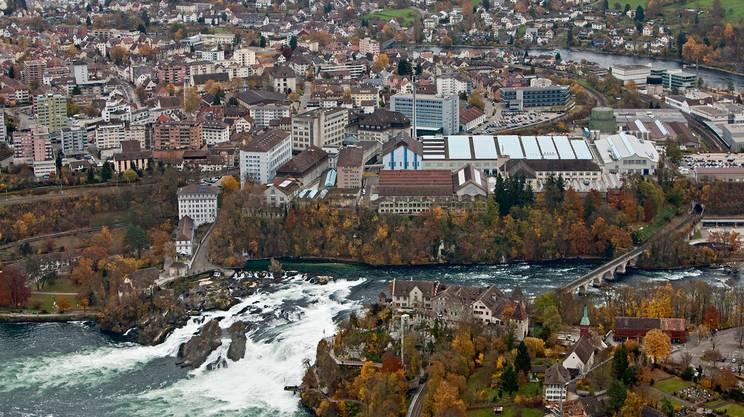 Alla scoperta delle cascate più grandi d'Europa a Sciaffusa
